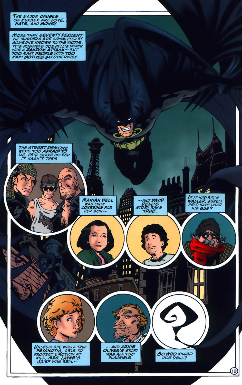 Shadow Of The Bat 71